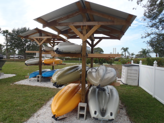 Kayak Storage Racks